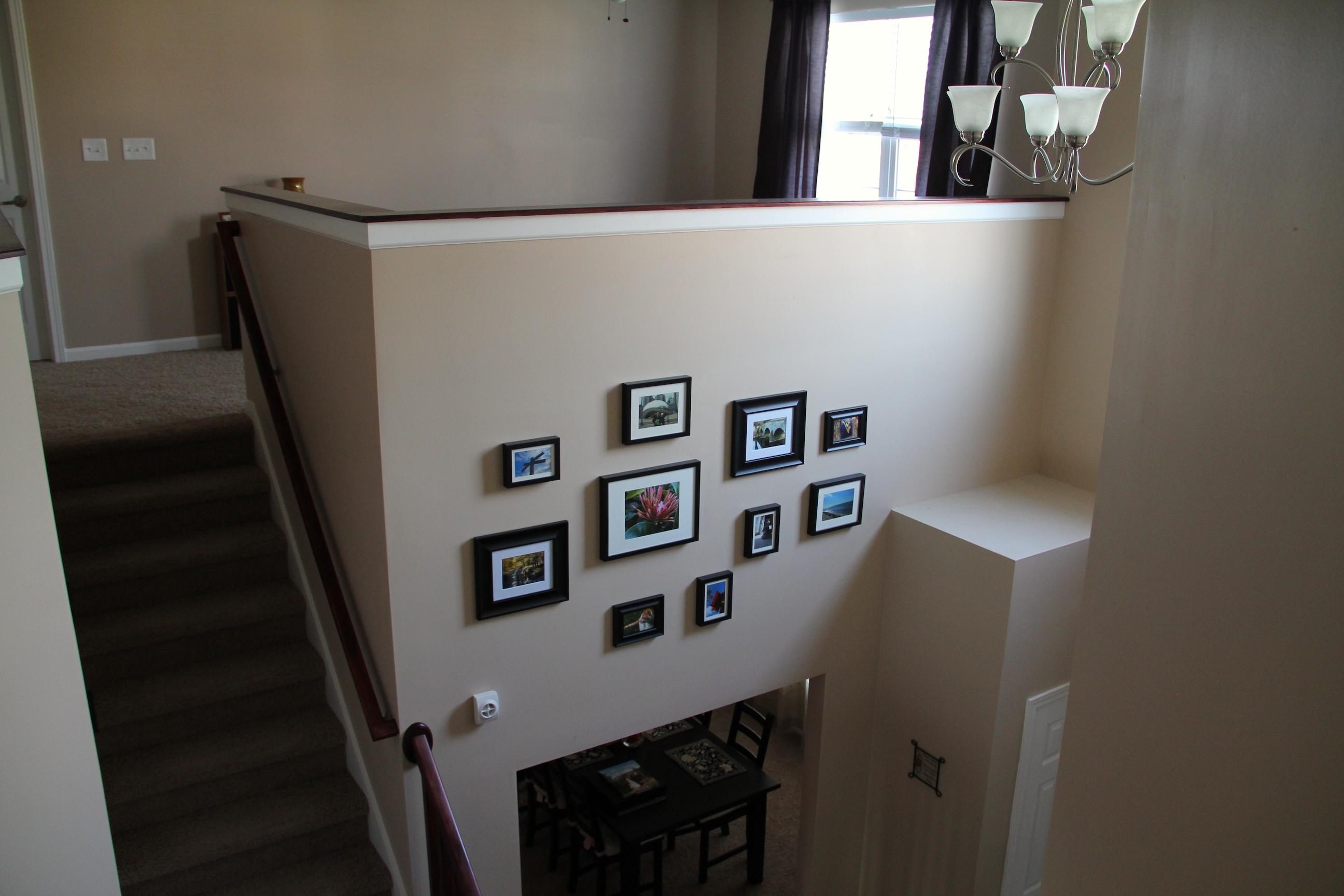 Arranging photos on a wall - Wall Art