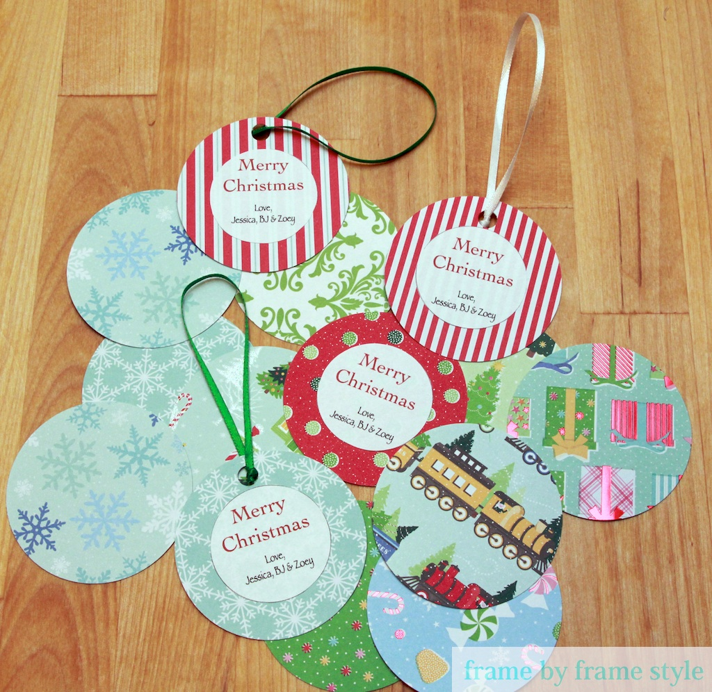 Personalized Christmas Paper