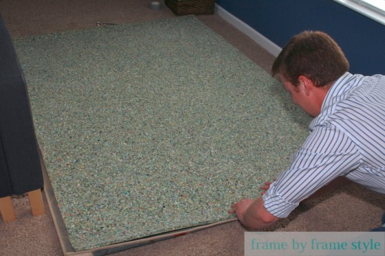 adding carpet pad to rug